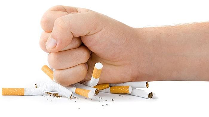 Cai thuốc lá bằng nước súc miệng đòi hỏi bạn phải rất quyết tâm