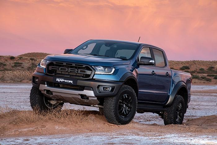 Ford Ranger Raptor với thiết kế khỏe khoắn