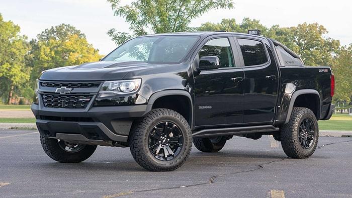 Dòng xe bán tải Chevrolet Colorado