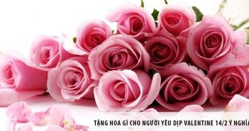 Tặng hoa gì cho người yêu dịp Valentine 14/2 ý nghĩa?