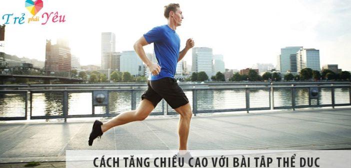 Chỉ dẫn cách tăng chiều cao với bài tập thể dục đơn giản