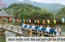 MEDI Thiên Sơn: Địa chỉ họp lớp ôn kỷ niệm cũ, lưu kỷ niệm mới
