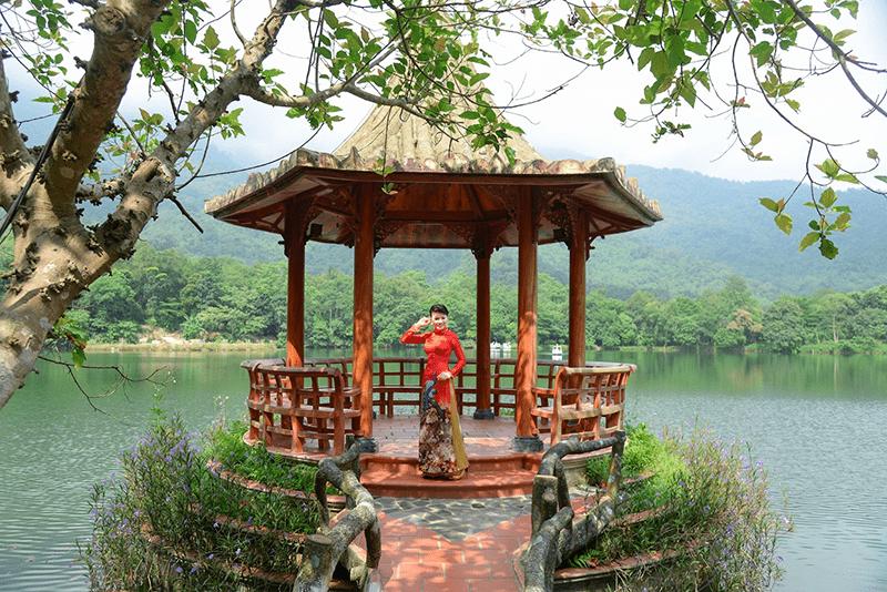 Check in tại khung cảnh đẹp của Medi Thiên Sơn