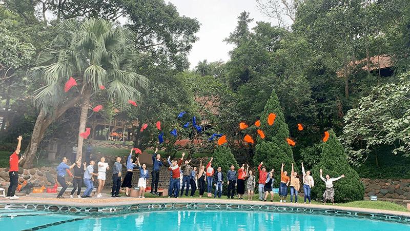 Trải nghiệm Team Building thú vị tại Medi Thiên Sơn